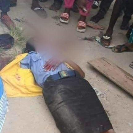 Photo of the policewoman that was shot dead by a policeman