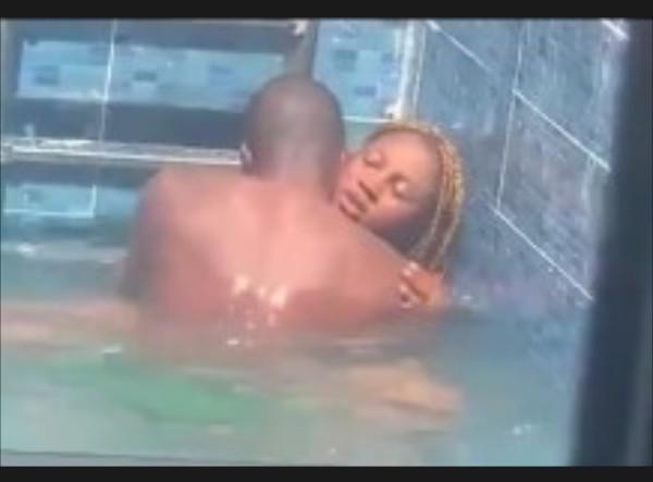 Viral Video Of Lovers Having S*x Inside Swimming Pool Has Left People In Shock(18+)