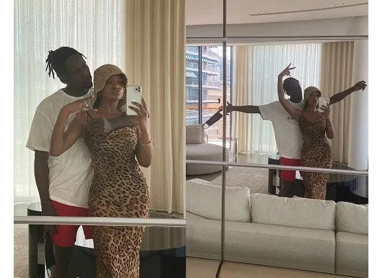 Temi Otedola Shares Loved-Up Photos Of Herself And Boyfriend