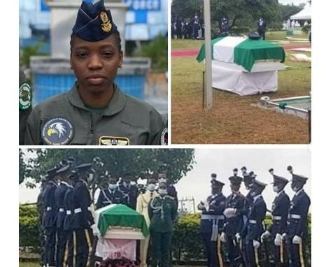 Arotile's Body Arrives Military Cemetery For Burial (Photos)