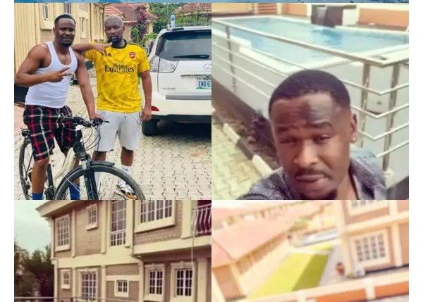 """Money Is Good:Nollywood Actor, Zubby Michael Acquires A Mansion In Lekki"""" (Photos)"""