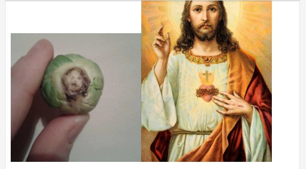 Woman Sees Face Of Jesus In A Vegetable (Photo)