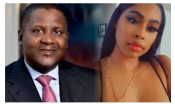 Dangote's Naked Bum shared on Instagram