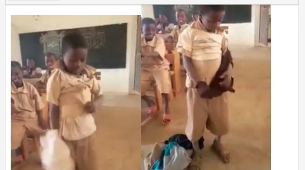 A Little Boy Puts On 8 Shirts To School To Withstand Teacher's Cane