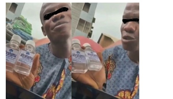 Nigerian Pastor Sells Holy Water In Lagos To Make People 'Rich' (Video)