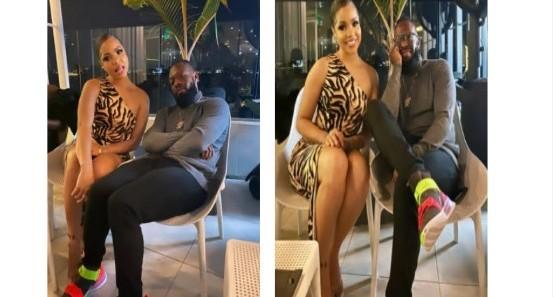 Reality Star, Nengi Meets Timaya [Photos]