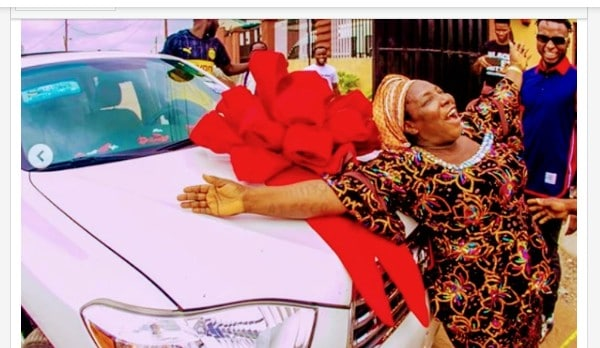Son Surprises Mum With A Car On Mother's Day ( Photos)