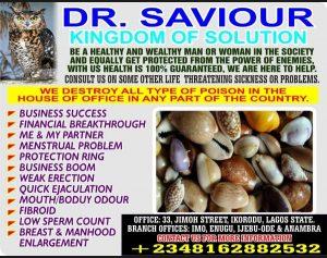 Dr. Saviour.