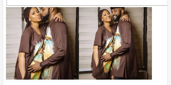 Singer Banky W And Wife,Adesua Look Adorable In New Photos