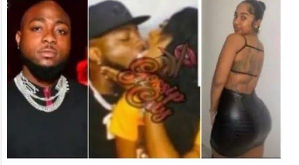 Reactions As Davido Was Spotted Kissing New Girlfriend, Mya Yafai