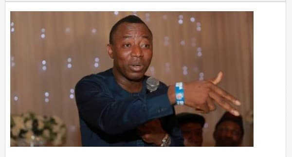 """""""Occupy London Hospital Where Buhari Will Be"""" - Sowore Tells Nigerians In UK"""