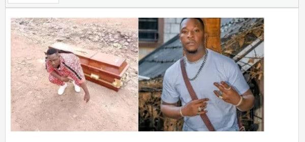 Popular Kenyan Musician Buys Himself Casket, Prepares For Death