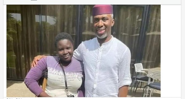 Uche Nwosu Gives The Sum Of NI Million To Pure Water Seller Amputee
