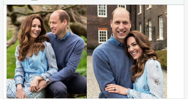 Prince William And Kate Celebrate 10th Wedding Anniversary With Loved-Up Photos (See More Photos)