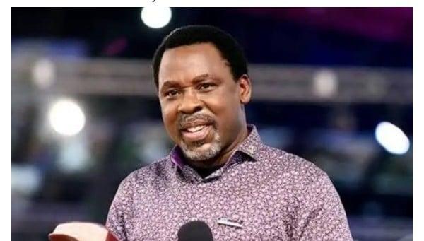 Prophet TB Joshua Reacts To The Death Of Pastor Adeboye's Son,Dare.