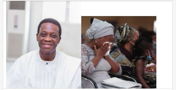Faces Of Those Who Attended Pastor Dare Adeboye's Service Of Songs
