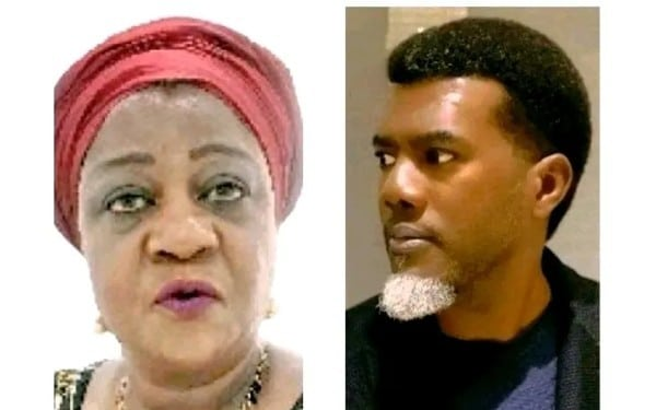 Lauretta Onochie Attacks Reno Omokri After Claims That He Welcomed His Daughter With His UK Based Side Chic