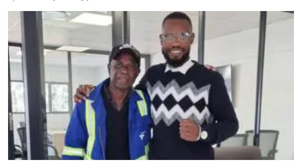 Employing My Father To Work For Me Is A Dream Come True -Young Man Says, Shares Photos