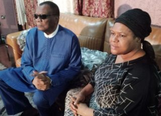 Prophet Abiara Pays Condolence Visits To Late T.B Joshua's Widow,Evelyn [Photos]