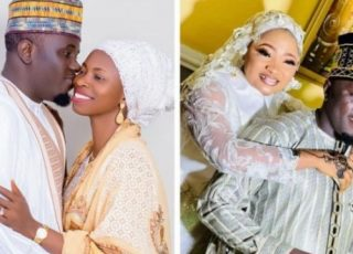 """""""I Promise To Be The Best Husband Forever""""-Muslim Man Tells His Two Wives, Shares Photos"""