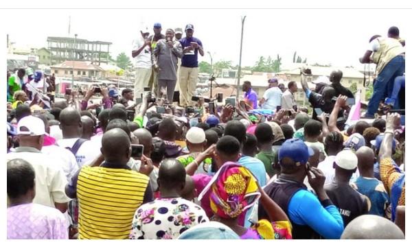 """Yoruba Nation Now, Yoruba Nation Now ""– Igboho Says, Thanks Protesters"