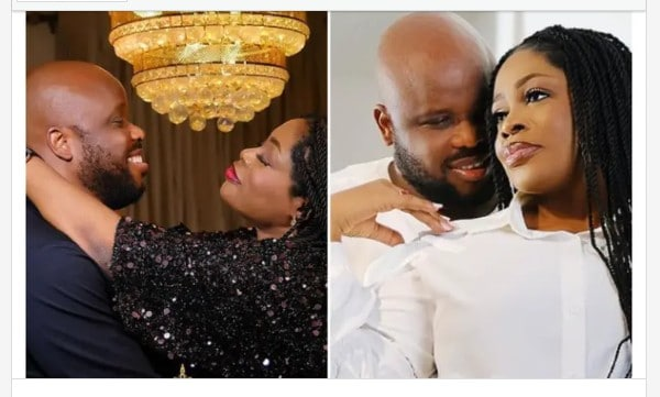 """""""You Are My King."""" Sinach Celebrates Husband On Their 7th Wedding Anniversary"""