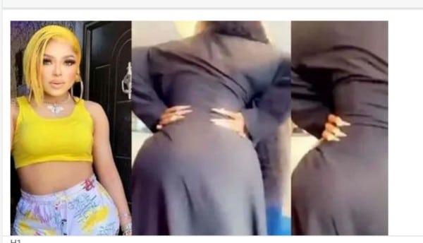 Bobrisky Flaunts Backside After Plastic Surgery (Video)