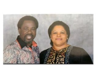 TB Joshua and Evelyn