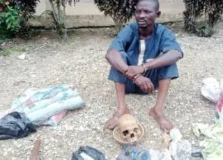 I Didn't Know Possession Of Human Skull Is An Offence – Herbalist Claims