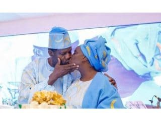 E.A Adeboye and wife, Folu Adeboye