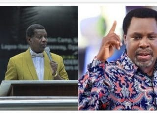 Letter Pastor Adeboye Wrote Prophet TB Joshua's Wife Leaks