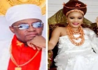 Oba Of Benin's Fifth Wife Delivers Quadruplets