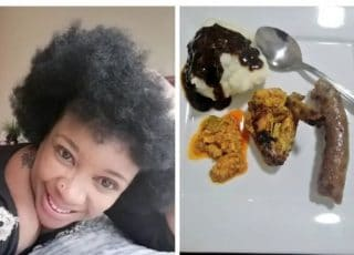 Reactions As Lady Shares Photo Of The Plate Of Food Her Sister Served Her r