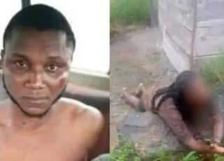 Female Undergraduate Who Was About To Be Slaughtered By A Yahoo Boy For Rituals Rescued