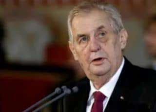 Czech Presiden Leaves Hospital Eight Days After He Suffered Diabetic Neuropathy