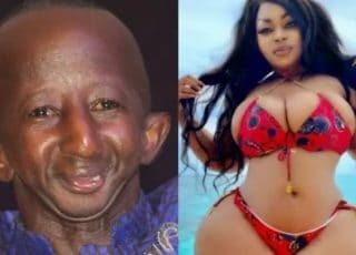 """""""I Will Miss You My Darling""""-Grand P Tells His Curvy Girlfriend After She Broke Up With Him"""